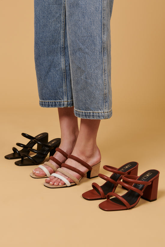 Sol Sana Judy Mule Black - Whimsy & Row