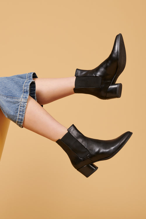 Vagabond Laura Chelsea Boot in Black