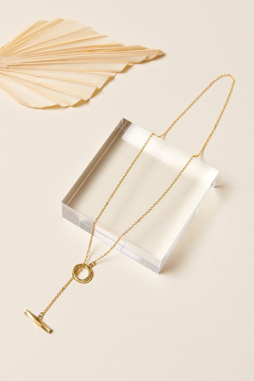 Soko Twist Lariat Necklace