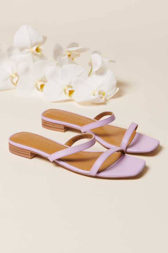 Jagger Sprung Flat in Lilac - Whimsy & Row