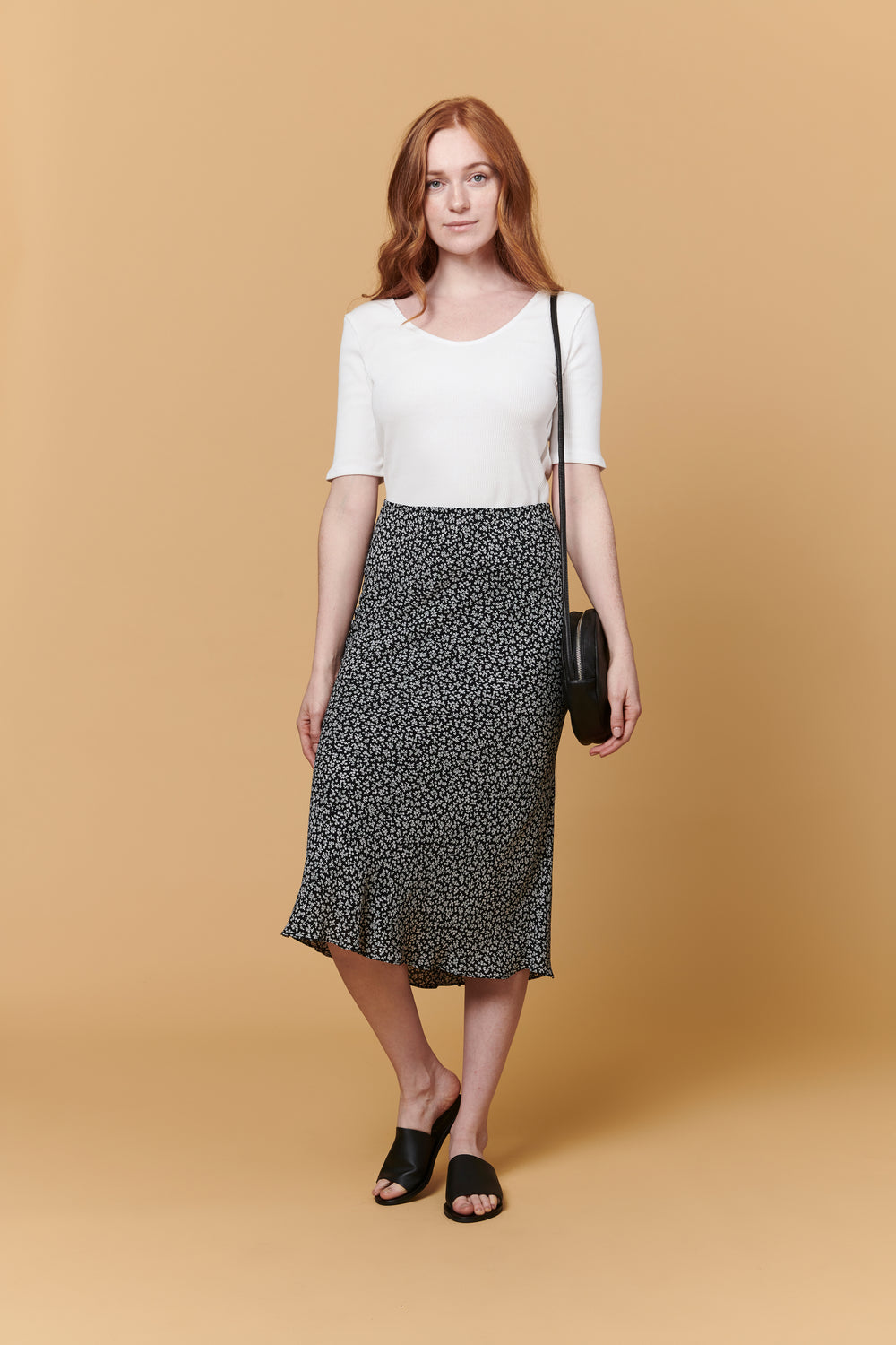 Diana Skirt in Petite Floral - Whimsy & Row