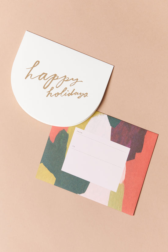 Moglea Holiday Crescent Card - Whimsy & Row
