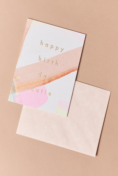 Moglea Happy Birthday Cutie Card