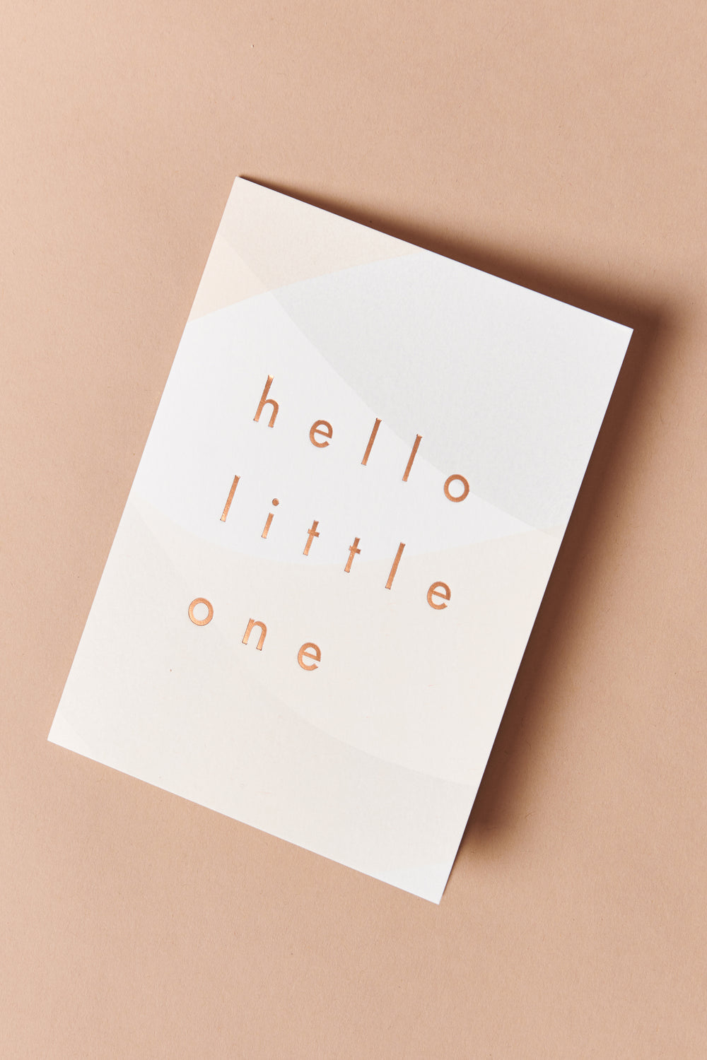Moglea Hello Little One Card - Whimsy & Row