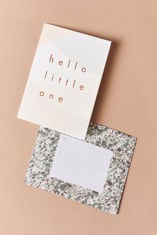 Moglea Hello Little One Card