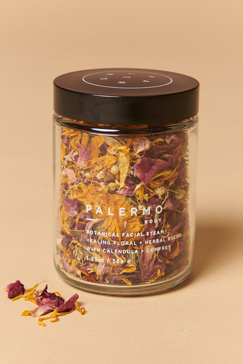 Palermo Botanical Facial Steam in Calendula +  Comfrey