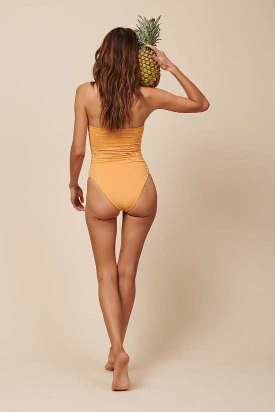 Toast Swim Tube One Piece - Gold Earth - Whimsy & Row
