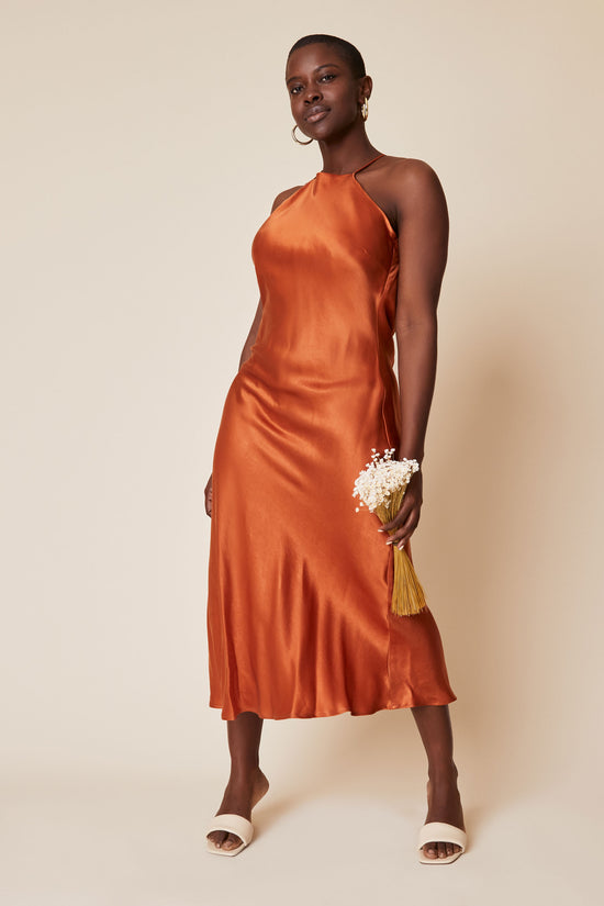 Fiona Dress in Rust - Whimsy & Row