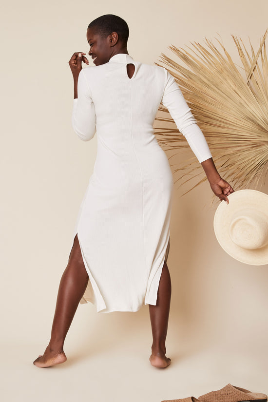 The Joan Dress in Cream - Whimsy & Row