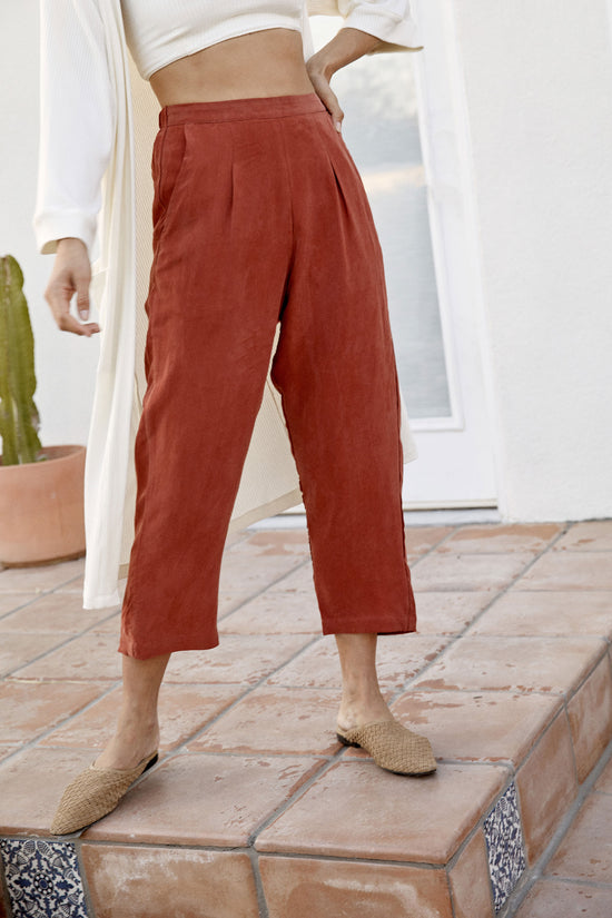Rowen Pant in Sienna - Whimsy & Row