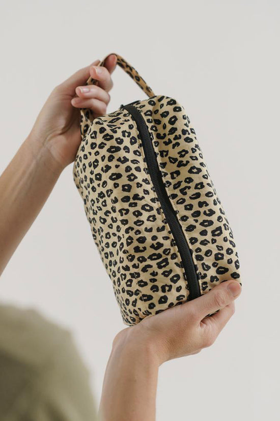Baggu Dopp Kit in Honey Leopard - Whimsy & Row
