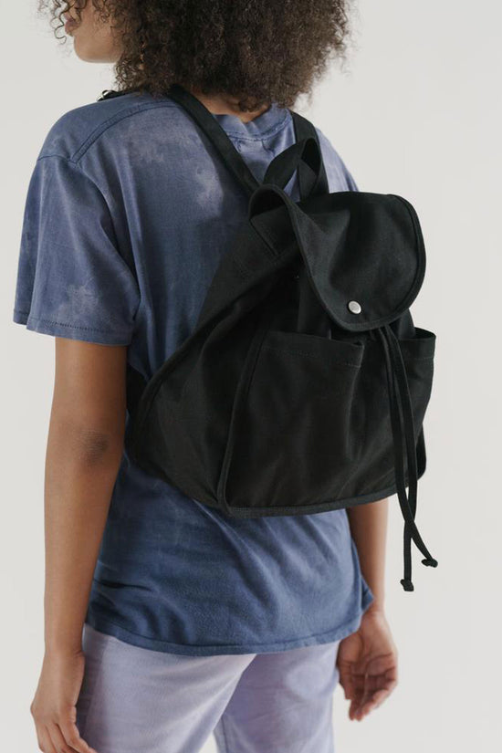 Baggu Drawstring Backback in Black - Whimsy & Row