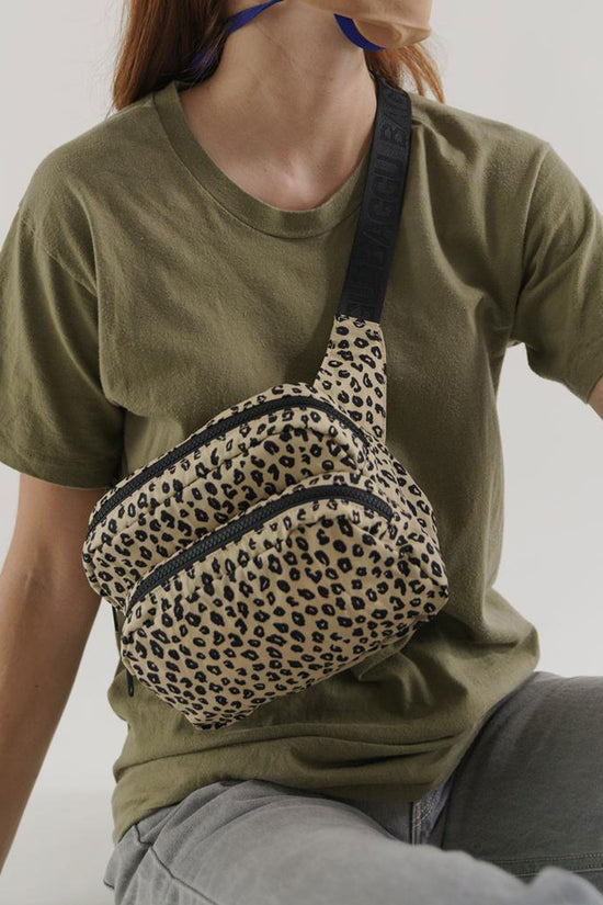 Baggu Fanny Pack in Honey Leopard - Whimsy & Row