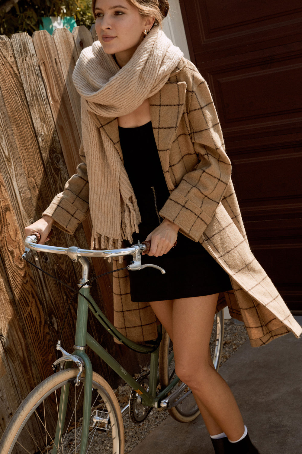 Emilia Jacket in Plaid - Whimsy & Row
