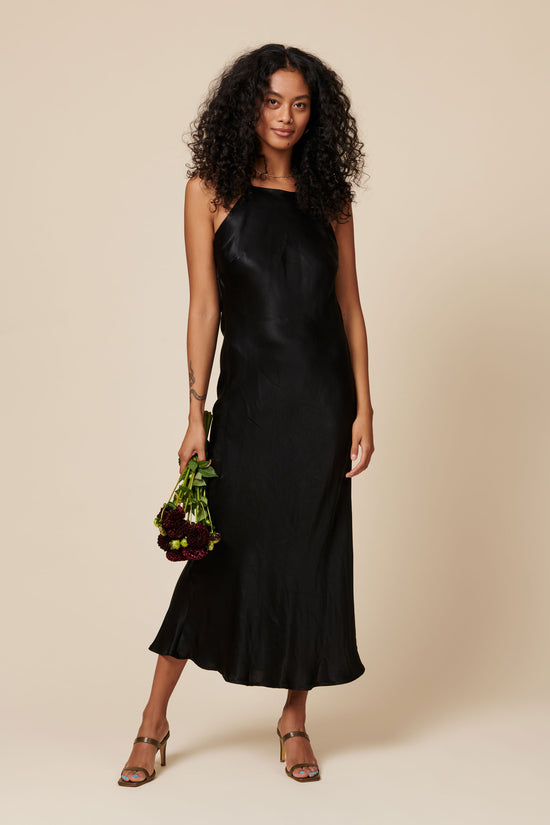 Fiona Dress in Black - Whimsy & Row