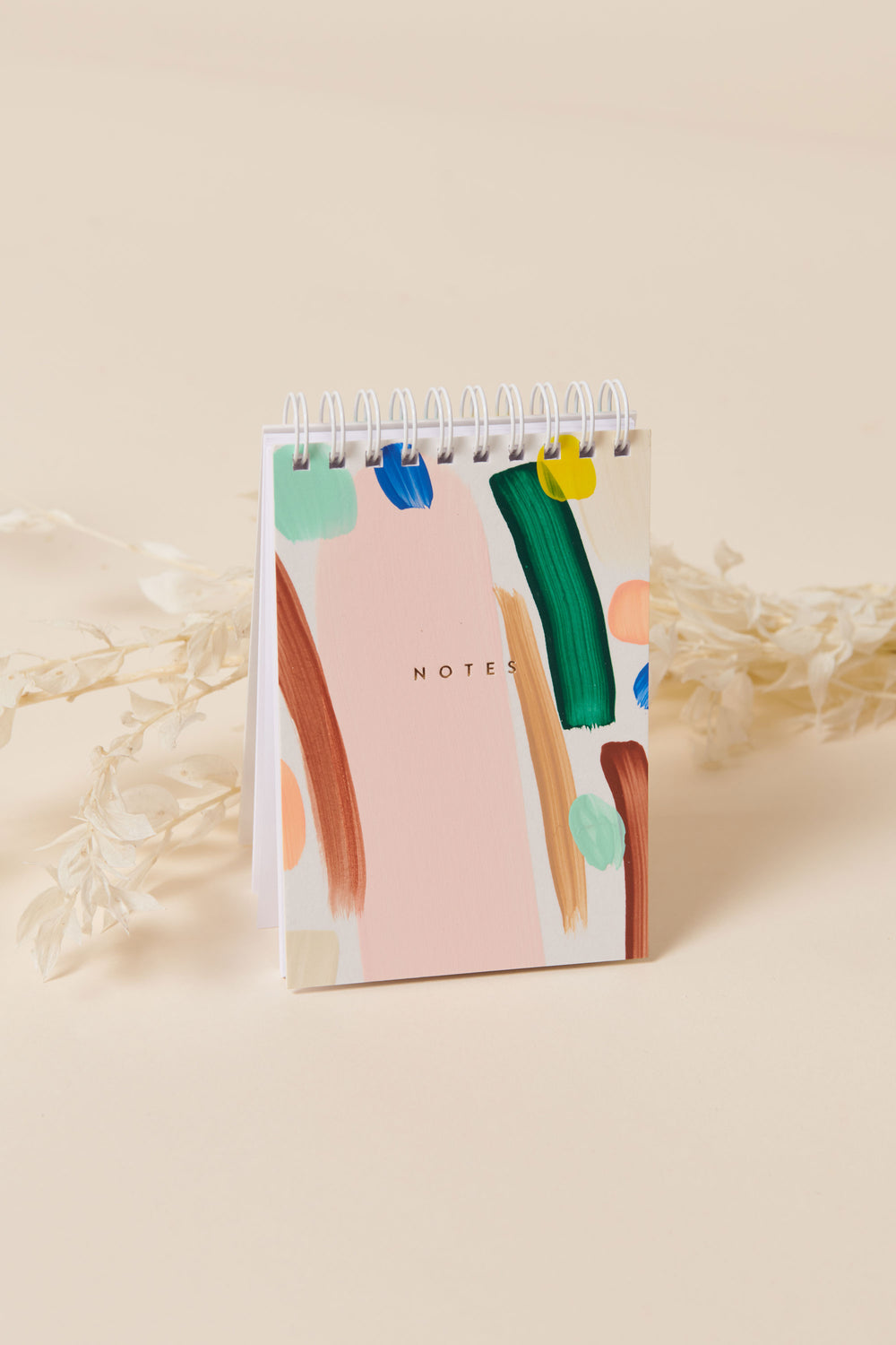 Moglea Mini Notepad in White - Whimsy & Row