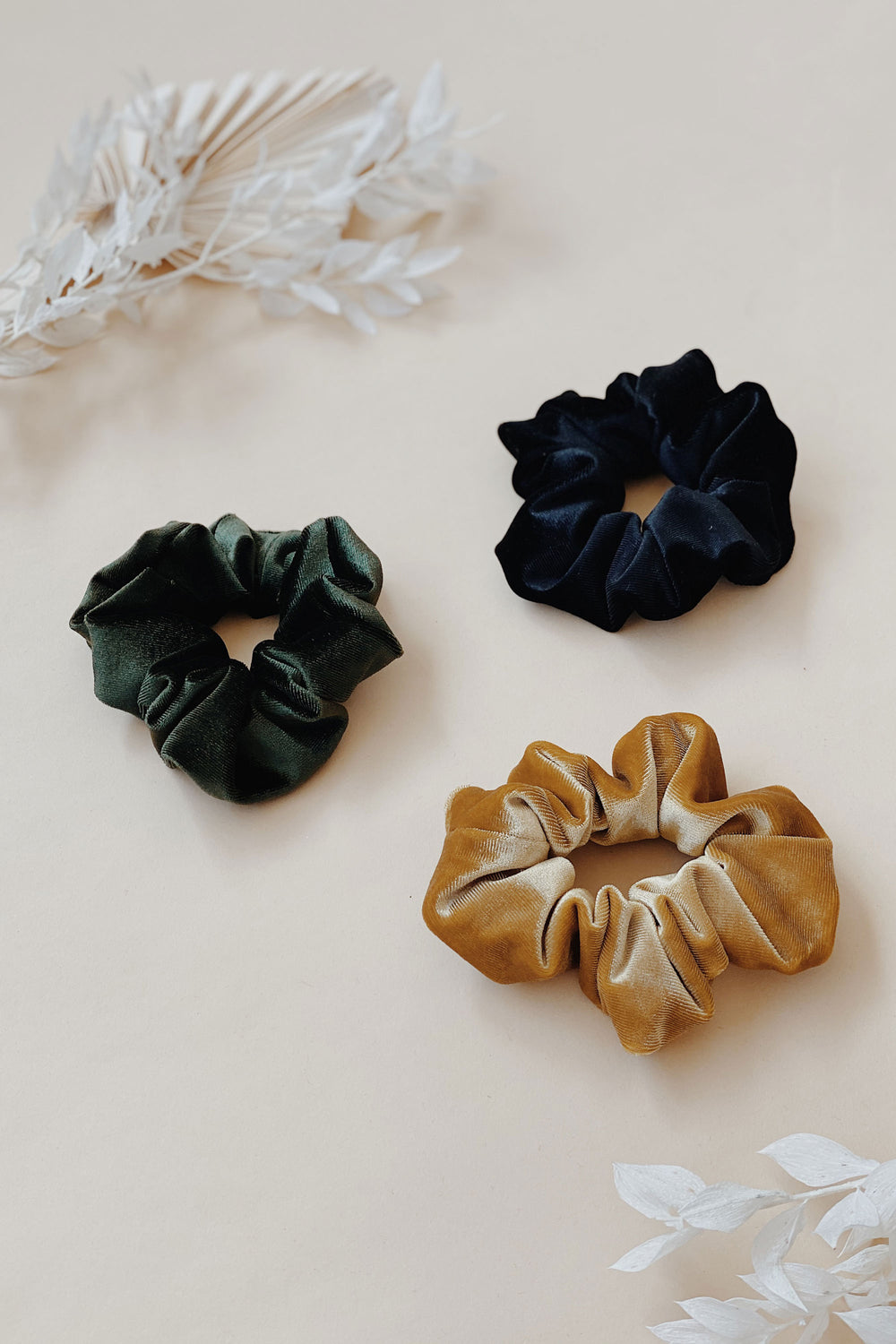 Velvet Hair Scrunchie - Whimsy & Row