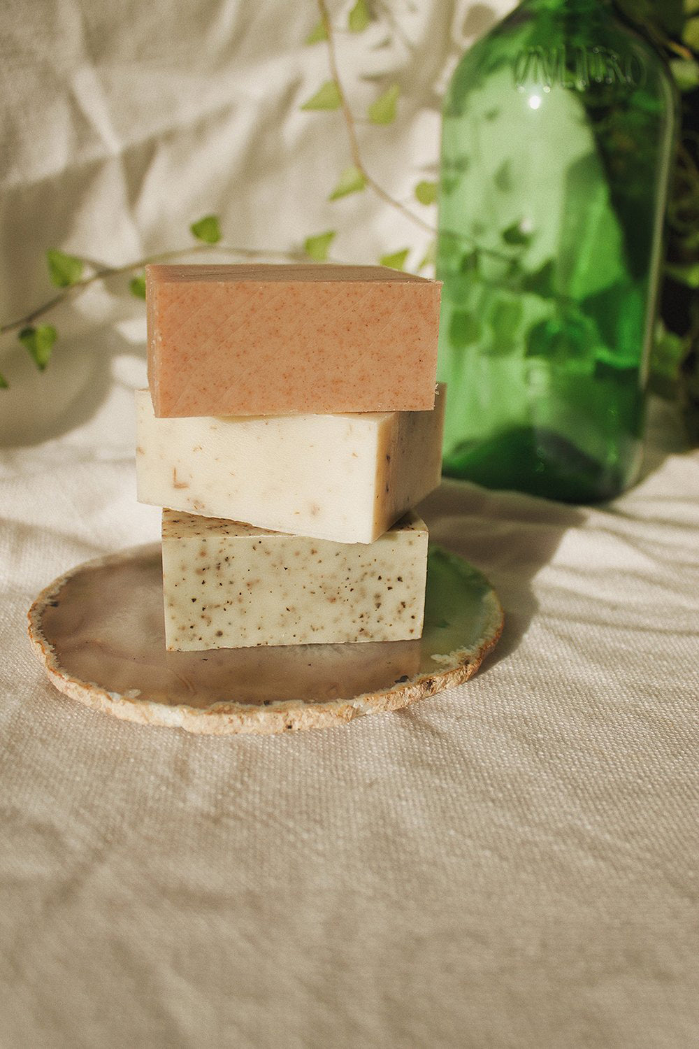 Palermo Rose Geranium + Mandarin Soap 2oz - Whimsy & Row