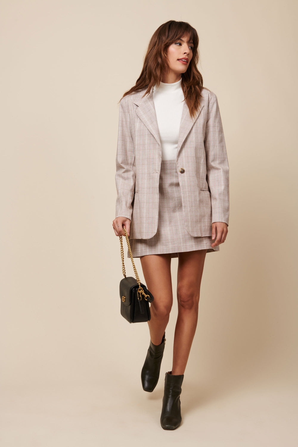 Parker Blazer in Plaid - Whimsy & Row