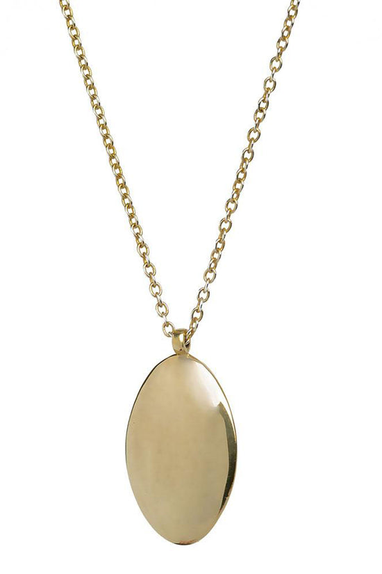 Soko Oval Medallion Pendant - Whimsy & Row