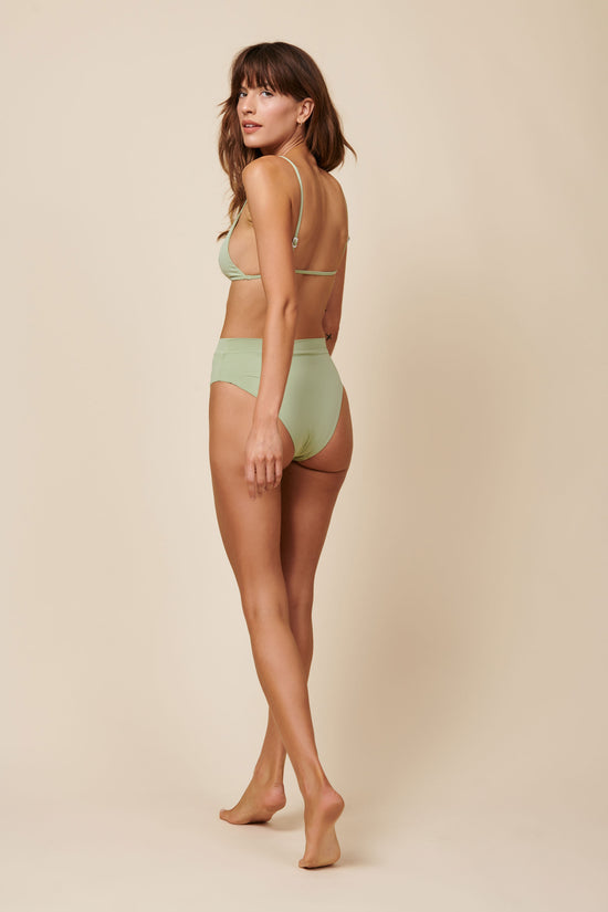 Toast Swim High Waisted Bottom - Desert Sage - Whimsy & Row