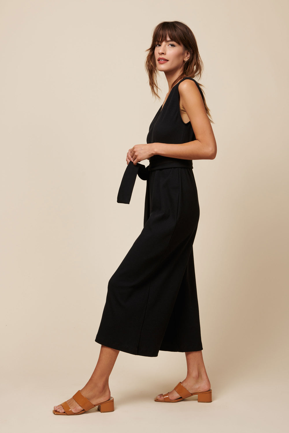 Westly Jumpsuit in Black - Whimsy & Row