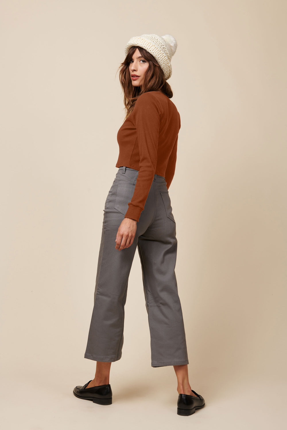 Emma Crop in Rust - Whimsy & Row