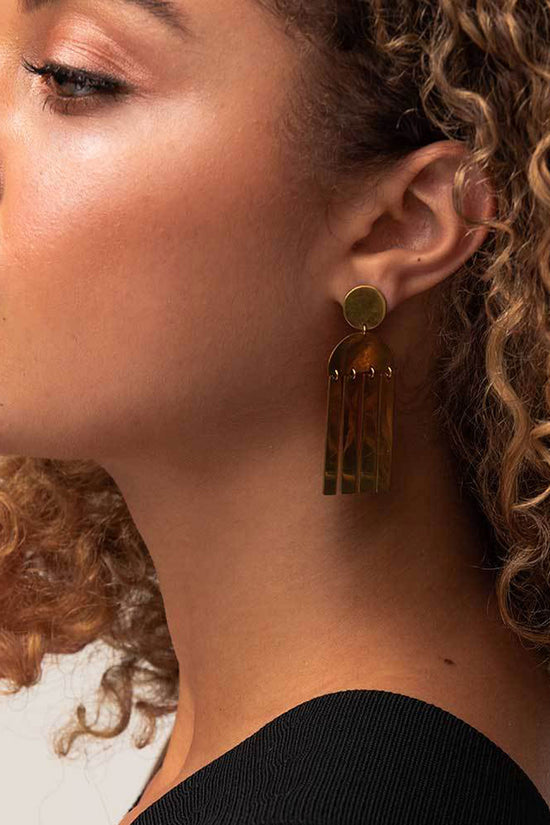 Soko Maxi Horn Cala Earrings - Whimsy & Row