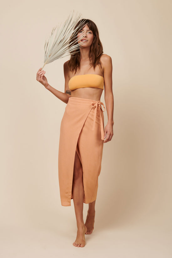 Valentina Skirt in Peach - Whimsy & Row