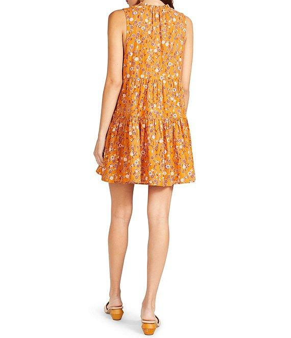 Sunny Disposition Dress in Papaya