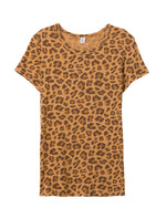 Load image into Gallery viewer, Eco-Jersey T-Shirt in Leopard