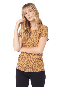 Eco-Jersey T-Shirt in Leopard