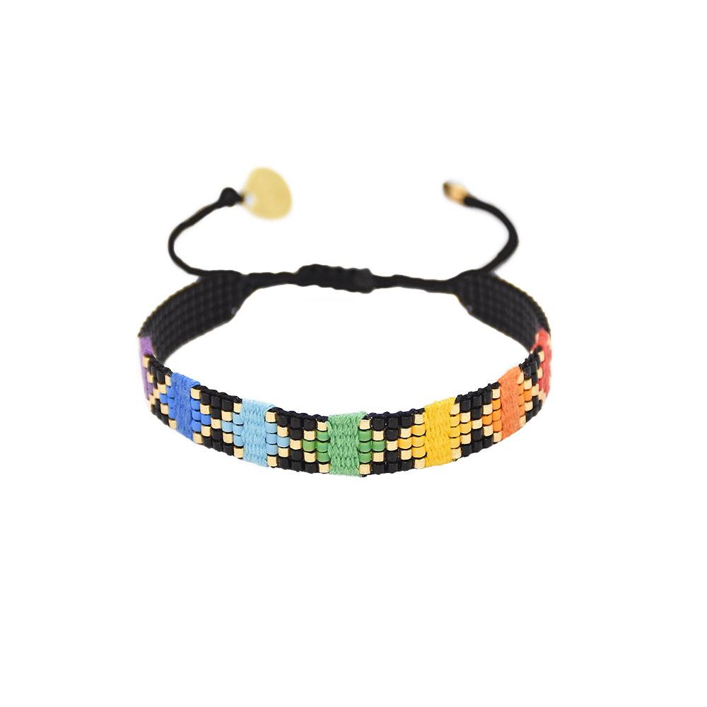 Rainbow Yeyi Beaded Bracelet