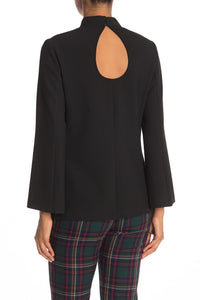 Hostess Top in Black