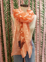 Load image into Gallery viewer, Shanghai Night Scarf in Coral