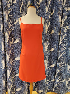 Cara Dress in Coral