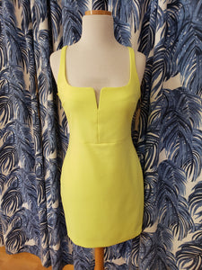 Constance Dress in Goldenrod