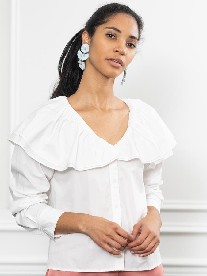 The Amalia Shirt in White