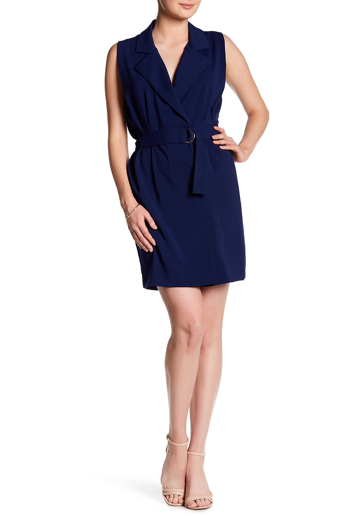 Wintour Dress in Navy