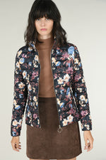 Load image into Gallery viewer, Printed Floral Padded Jacket