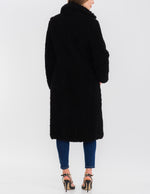 Load image into Gallery viewer, Fiona Sherpa Jacket in Black