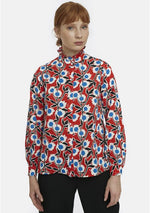 Load image into Gallery viewer, Bohol Shirt in Red Floral