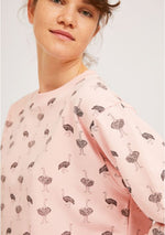 Load image into Gallery viewer, Ostrich Sweatshirt in Light Pink