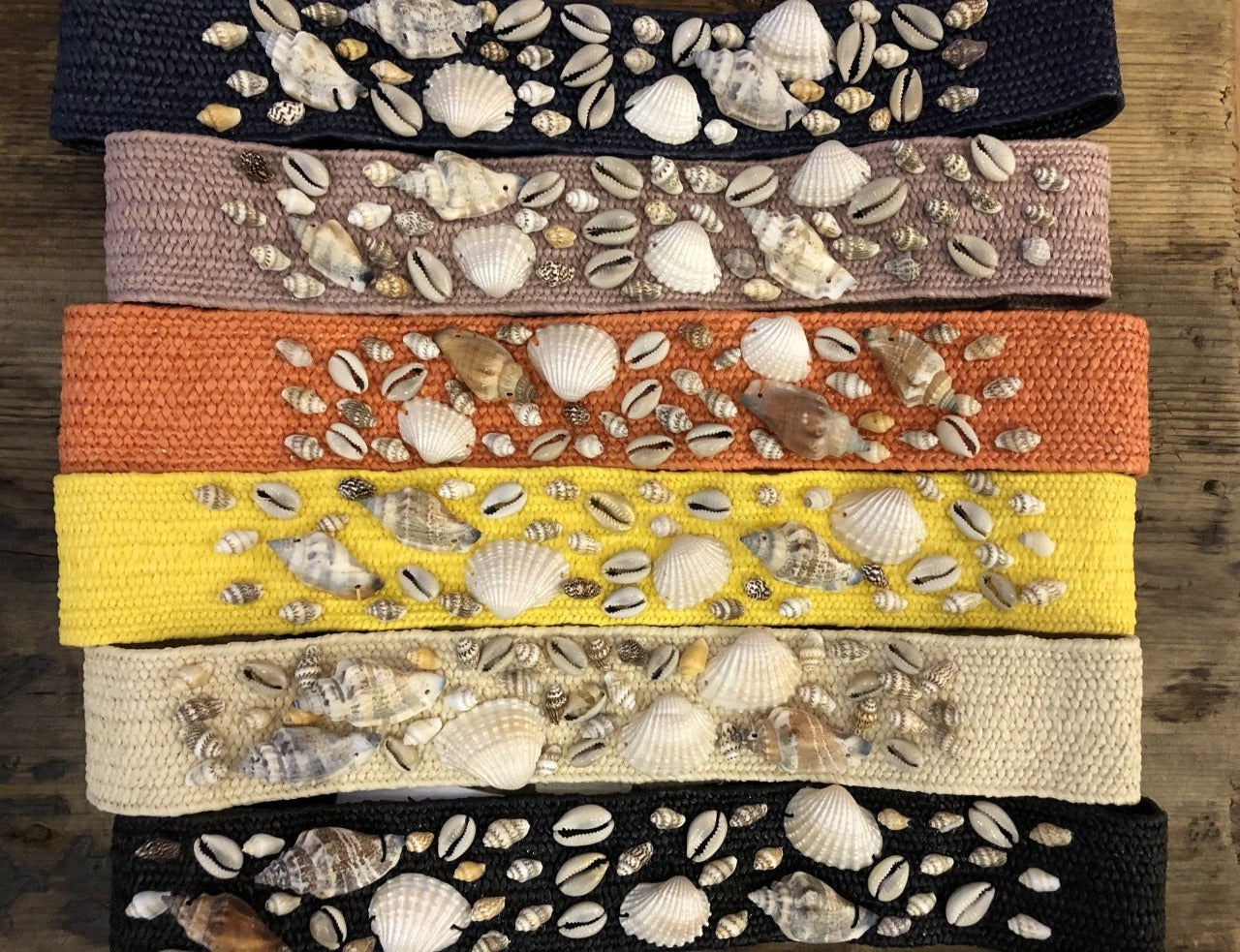 Stretch Seashell Waist Belt