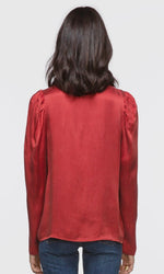 Load image into Gallery viewer, Ariana Pouf Sleeve Blouse in Washed Spice