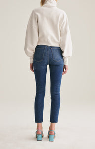 Nico High Rise Slim Fit Jean in Fixation