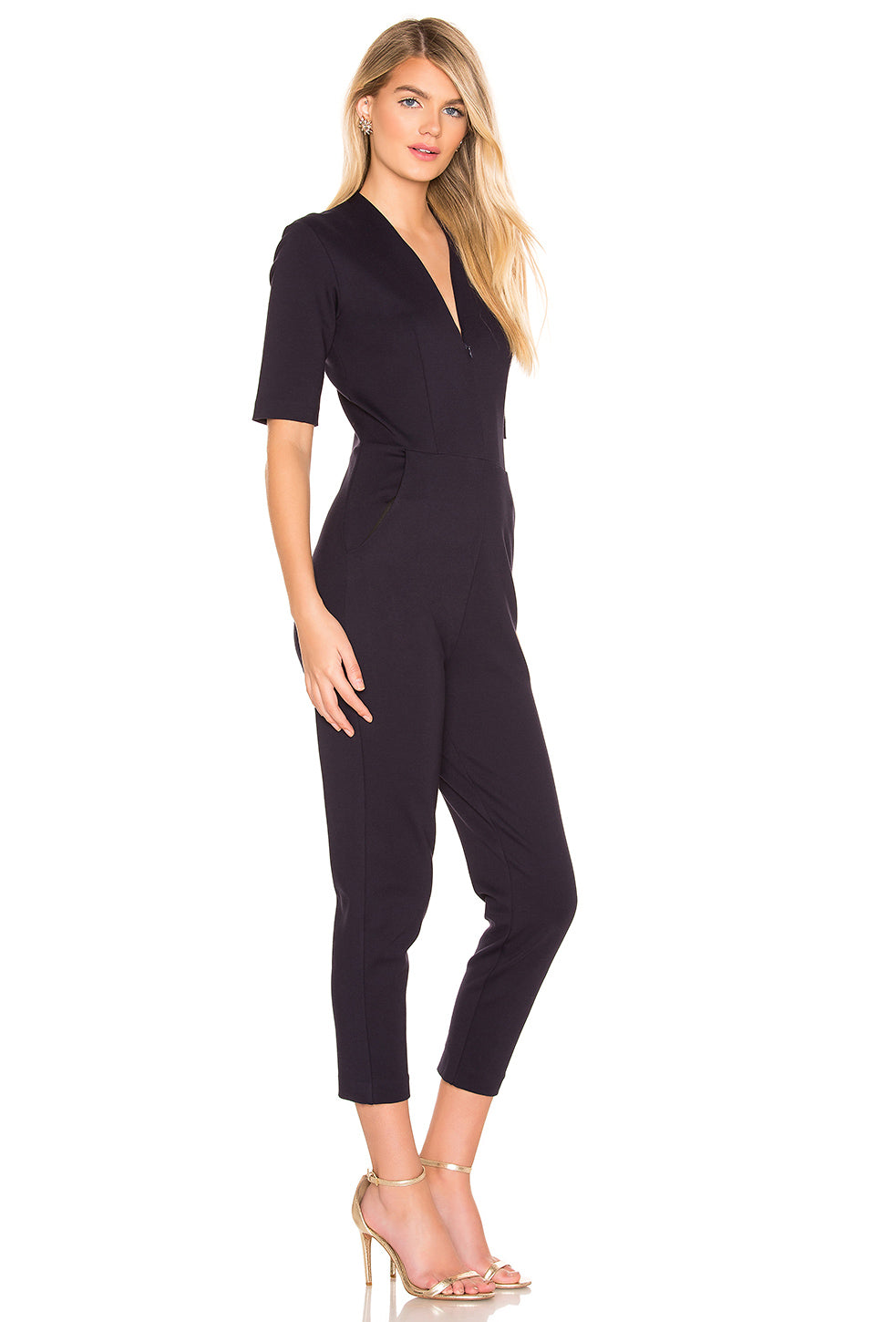 Tory Catsuit in Midnight