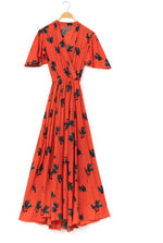 Load image into Gallery viewer, La Vie En Rose Dress in Scarlet Polly