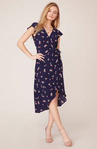 April Showers Wrap Dress