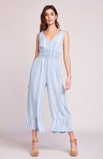 Load image into Gallery viewer, Indigo Flow Jumpsuit